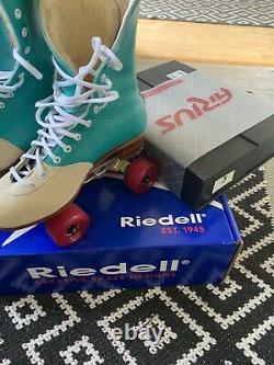 Riedell 172 OG Roller Skates. US 6 D. Arius Plates. Leather