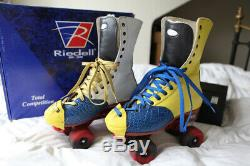 Riedell 172 UNIQUE Color Lab dance roller skates NEW with Arius plate £800 setup