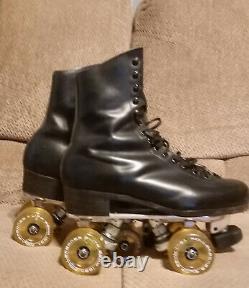 Riedell 192 Snyder Rollerskates Mens 7 1/2 genuine leather