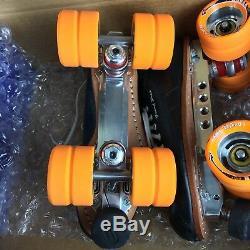 Riedell 195 Quad Skates NEW Size 6.5 Men/8.5 Women POWER DYNE plates