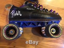 Riedell 195 Speed / Jam Roller Skates Size 8
