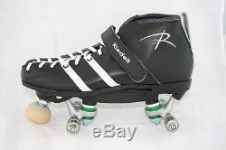 Riedell 265 Vandal quad derby roller skates NO WHEELS