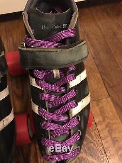 Riedell 265 Wicked Roller Derby Skates, size 7 men/9 women