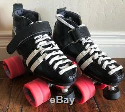 Riedell 265 Wicked Speed Skates Pink wheels Mens 4 Womens 5