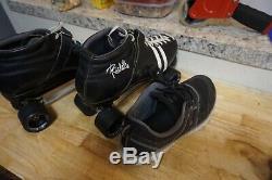 Riedell 265 roller derby quad skates mens 10-11
