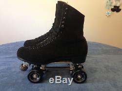 Riedell 297 Suede, Snyder Deluxe, Men's 10 1/2 Suede Medium Roller Skates
