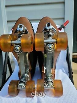 Riedell 297 roller skate size 13 Immaculate condition sure grip classic plate