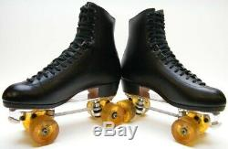 Riedell 355 Snyder Super Deluxe Quad Roller Skates Powell Bones Elite Wheels 11