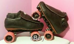 Riedell 395 Black Size 7.5 Roller Skates
