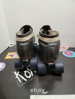 Riedell 395 Roller Skates Speed Jam Quad Size 13 Men 90s inline custom 595