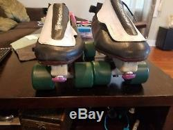Riedell 395 Speed skates size 12 laser plate witch doctor wheels