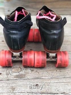 Riedell 395 roller skates size 10.5 black