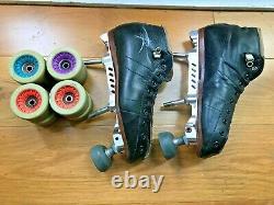 Riedell 495 Rollder Derby Skates, wheels, plates, etc
