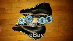 Riedell 595 Jam Roller Skates Men's Size 12 Black Only Wore Them 4 Times