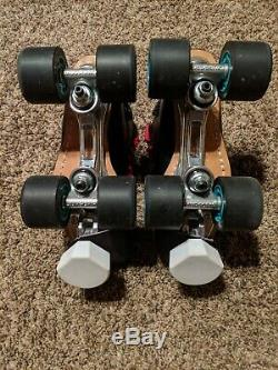 Riedell 595, Size 5.5, Roller Derby Ready Quad Skates. Like New Condition