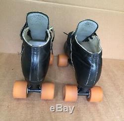 Riedell 695 Mens 13 Roller Skates Sure Grip Omega 9 Bones Swiss Hugger Vintage