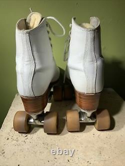 Riedell 7 M -RP Womens Artistic Dance Roller Skate Douglas Snyder Figure Deluxe