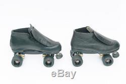 Riedell 795 ROGUE Speed Roller Derby Skates Mens Size 10 Radar 62mm 88A Wheels