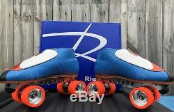 Riedell 911 Powerdyne Reactor Pro Plates speed skates NO WHEELS