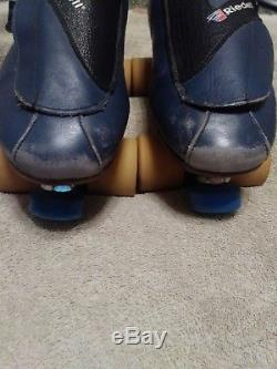 Riedell 911 Speed Skates with Roll Line Mistral plates and Vanguard Interceptors
