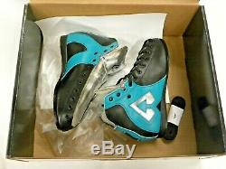Riedell AR1 Antik Quad Roller Skate Boots Black, Turquoise, Silver Size 6 NEW