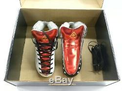Riedell AR1 Antik Roller Skate Boots Custom White, Black, Red Size 5 1/2 NEW