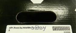 Riedell AR1 Antik Roller Skate Boots Custom White, Black, Red Size 5 NEW