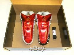 Riedell AR1 Antik Roller Skate Boots Custom White, Black, Red Size 7 NEW