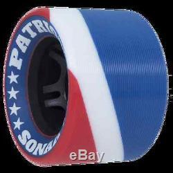 Riedell BLACK R3 Patriot Speed roller skates PowerDyne