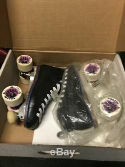 Riedell Blue Streak Sport DERBY Complete Skate Men's Size 6.5 Brand New
