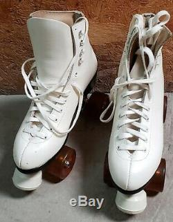 Riedell By Red Wing Roller Skates Size 6.5 Powell Bones Elite Wheels