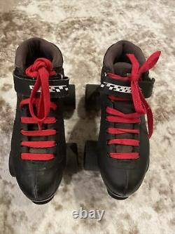 Riedell Carrera Roller Skate Speed Carrera Boots Style #2 105B Size 7