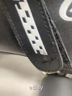 Riedell Carrera Speed Skates Mens Model 105b Black 95A Hyper Sure Grip Size 8
