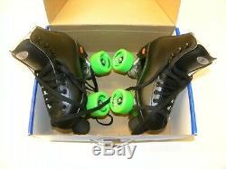 Riedell Citizen 11 Junior Roller Skate Set Size 3 Skates PowerDyne Plates NEW