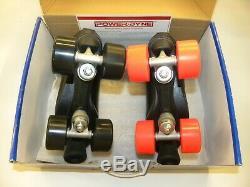 Riedell Citizen 111 Size 5 Skates Dumy999 PowerDyne Plates Sonar Zen Wheels
