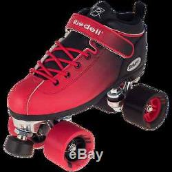 Riedell Dart Ombre Roller Skates complete quad skates