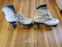 Riedell Douglas Snyder Custom Built Roller Skates 8 1/2 with Rannalli Pro-Line