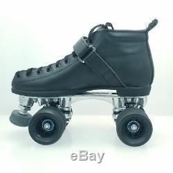 Riedell Dumy999 K7 165 Medium Black Size 7 Skates