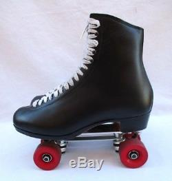 Riedell Gold Star 375 W Mens 11.5 Artistic Roller Skates Sure Grip Classic Plate