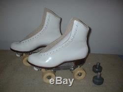 Riedell Gold Star Model 375Leather Roller SkatesWomen Size-9.5Never Used