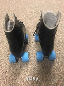 Riedell Gold Star Roller Skates Atlas Chassis Radar Zodiac Wheels Size 8.5