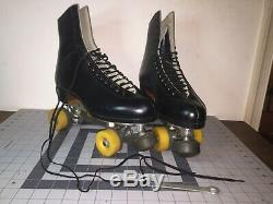 Riedell Gold Star Roller Skates, Snyder Super Deluxe, Sz. 10 1/2