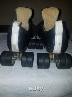 Riedell Grand Prix 9-1/2 Powerdyne Pro Plates Kwik Bearings Devil Ray Wheels
