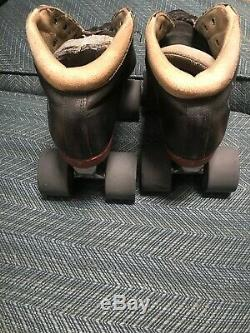 Riedell MINX Roller Skates with ALUMINUM Plates Men's Size 7 Womens 8.5