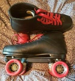 Riedell Men's Vanilla Red Skates Size 10