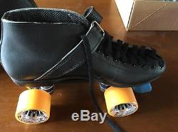 Riedell Model 125 Speed Roller Skates Size 9 Med. Width