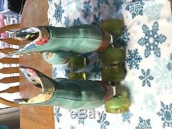 Riedell Moxi Lolly Floss Suede Roller Skates