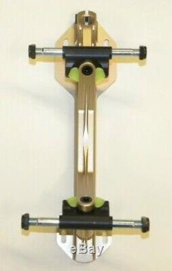 Riedell Powerdyne Arius Aluminum Quad Roller Skate Plate Frame Size 4 Derby NEW