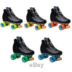 Riedell Quad Roller Skates Antik AR-1 Ebon