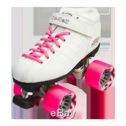 Riedell Quad Roller Speed Skates R3 Black or White